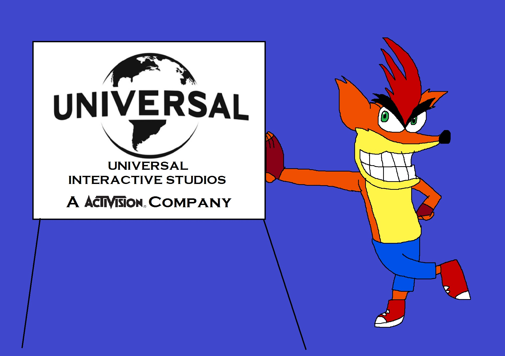 What if Activision should revive a Universal Interactive by Rainbow-Dash-Rockz