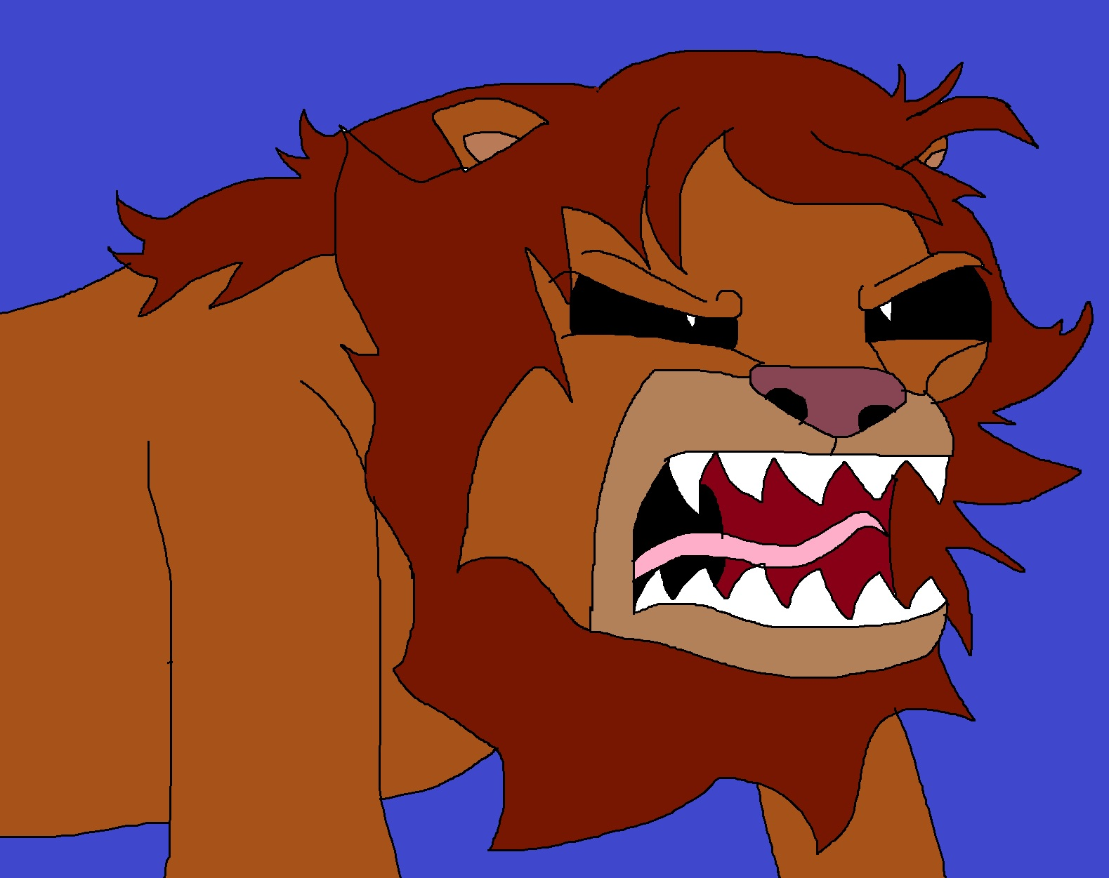 Simba's Savage by Rainbow-Dash-Rockz