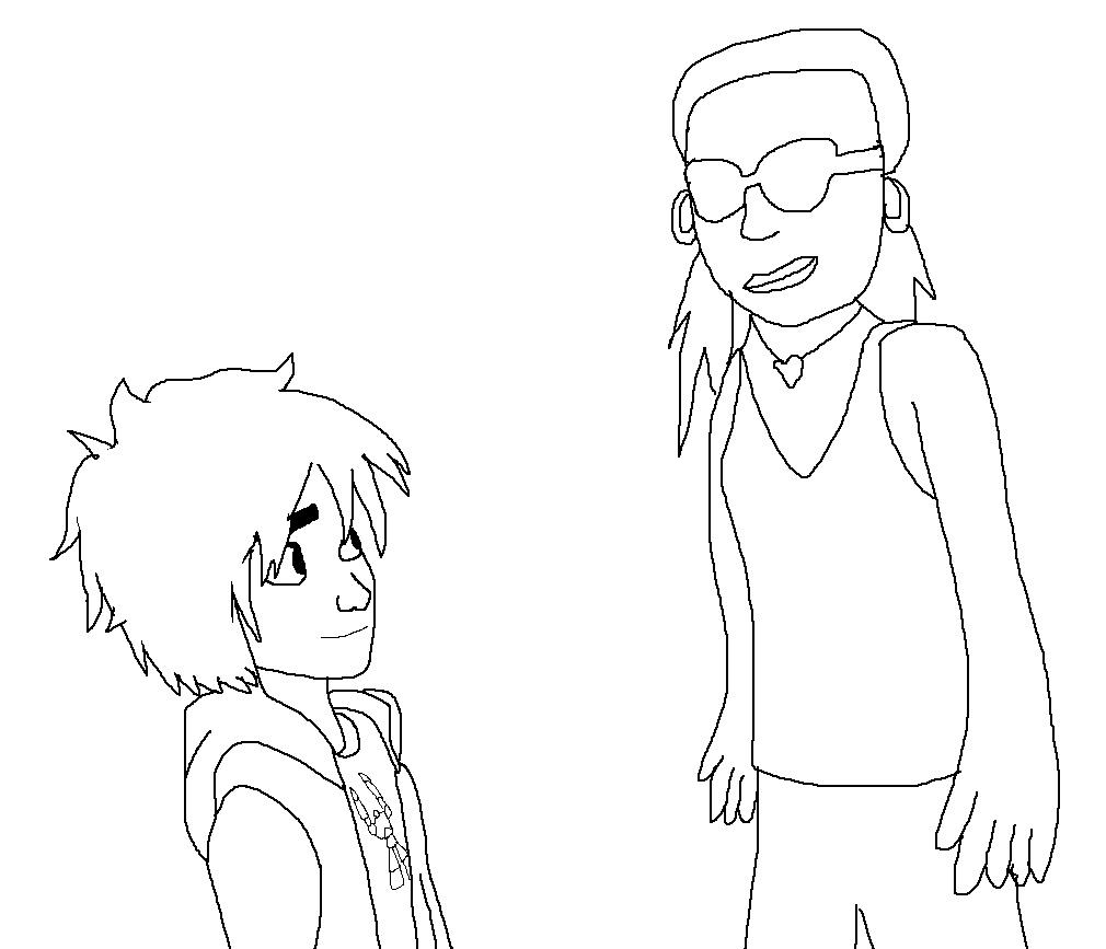 Hiro meeting Toya Brown by Rainbow-Dash-Rockz