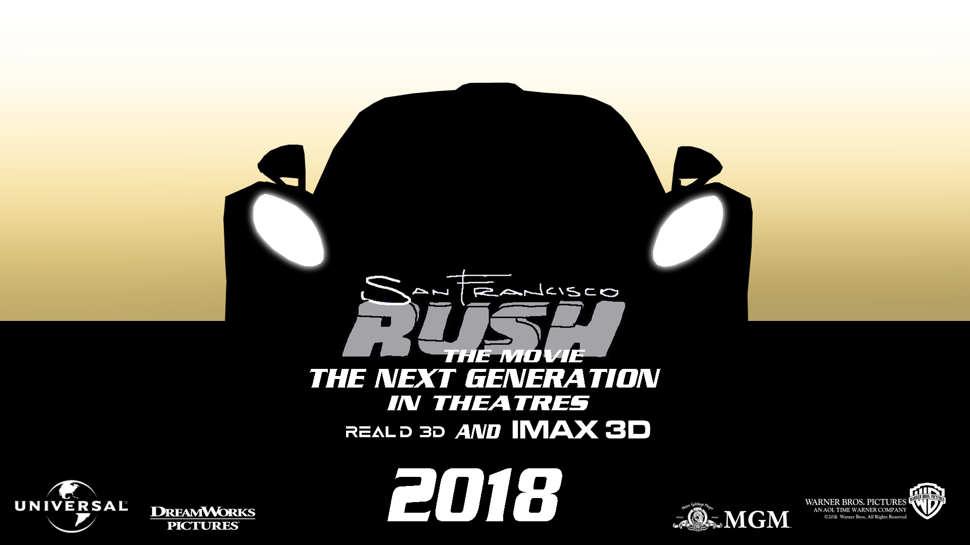 San Francisco Rush The Movie The Next Generation Movie Poster Teaser by Rainbow-Dash-Rockz