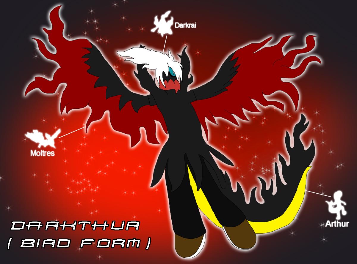 Fusion - Darkthur (Bird Form) by Rainbow-Dash-Rockz