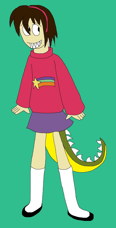 Arthur transforming into a Mabel Pines pg2 by Rainbow-Dash-Rockz