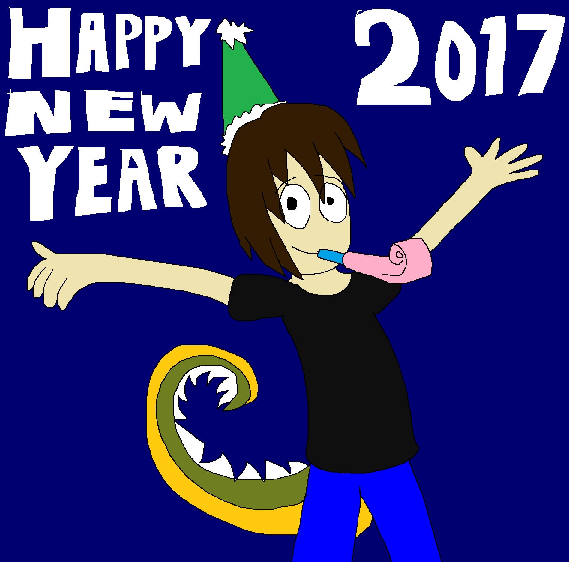 Happy New Year 2017 by Rainbow-Dash-Rockz