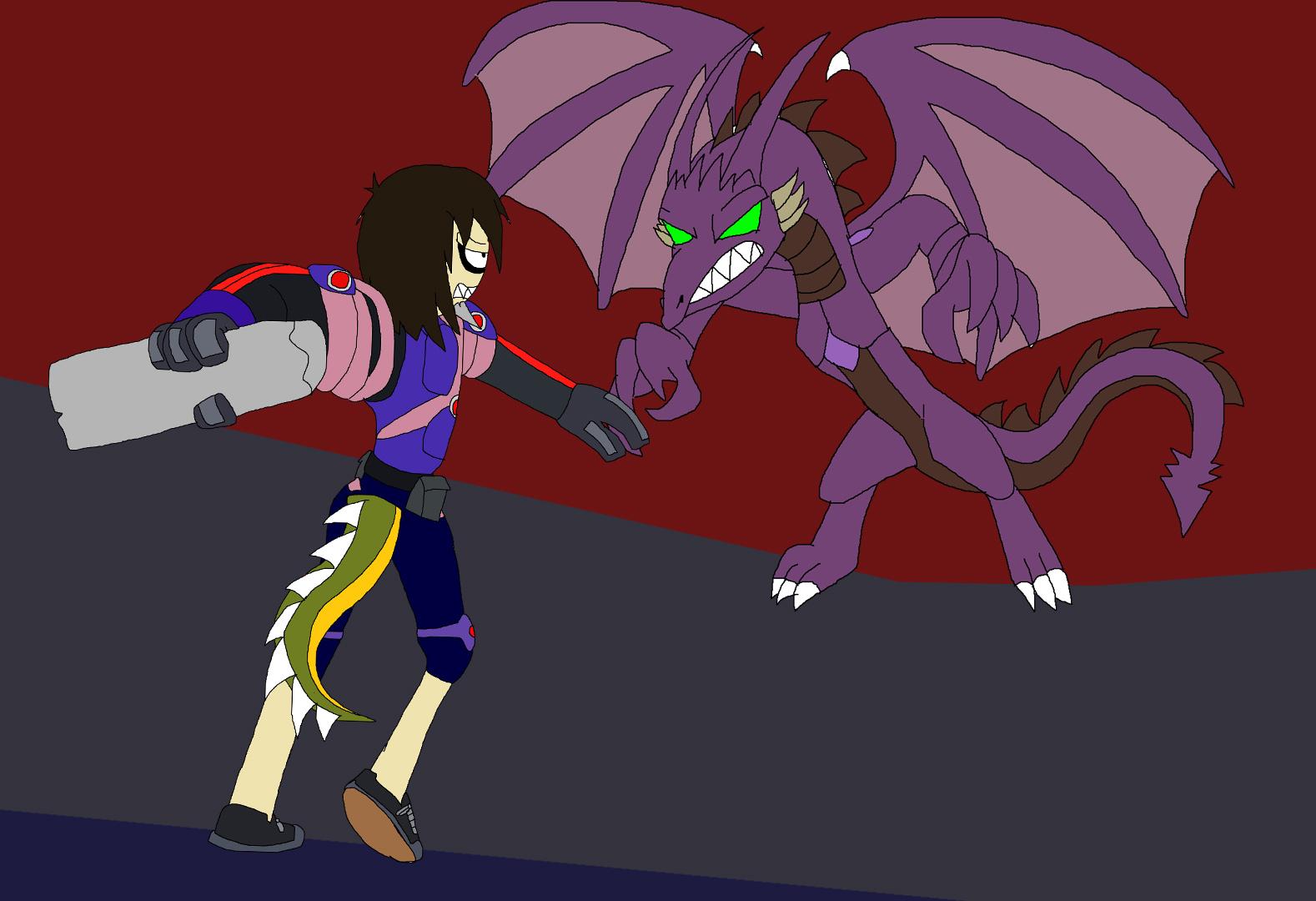 Conkeirothur vs. Frimalako by Rainbow-Dash-Rockz