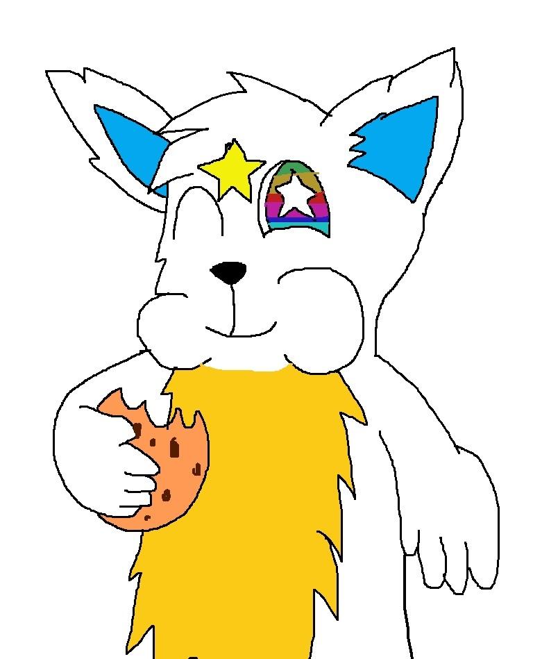 Hesaki Yamato eating cookie by Rainbow-Dash-Rockz