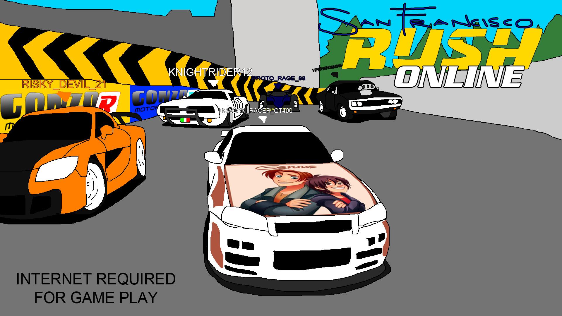 San Francisco Rush Online by Rainbow-Dash-Rockz
