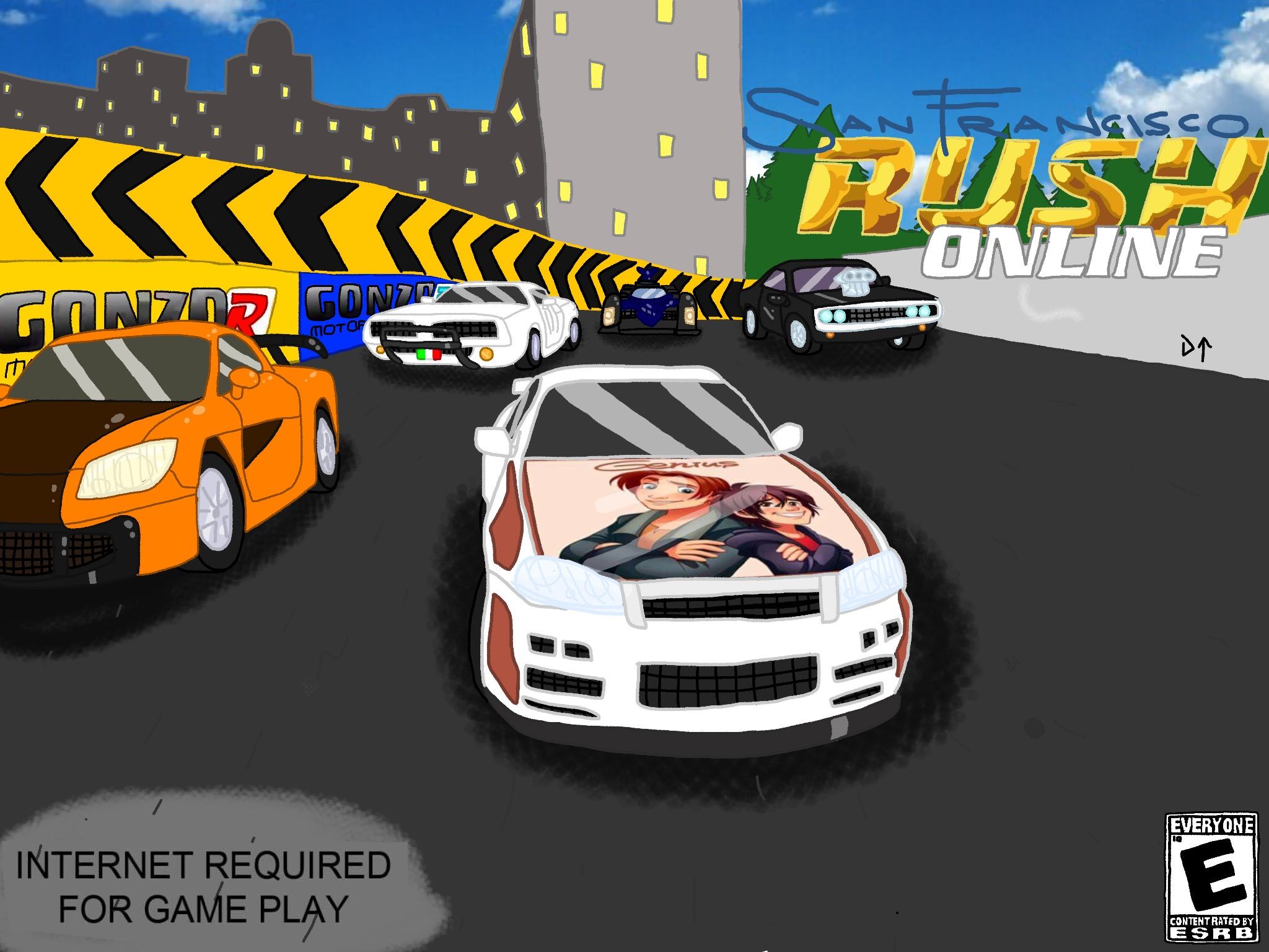 San Francisco Rush Online Drawned (Large size) by Rainbow-Dash-Rockz