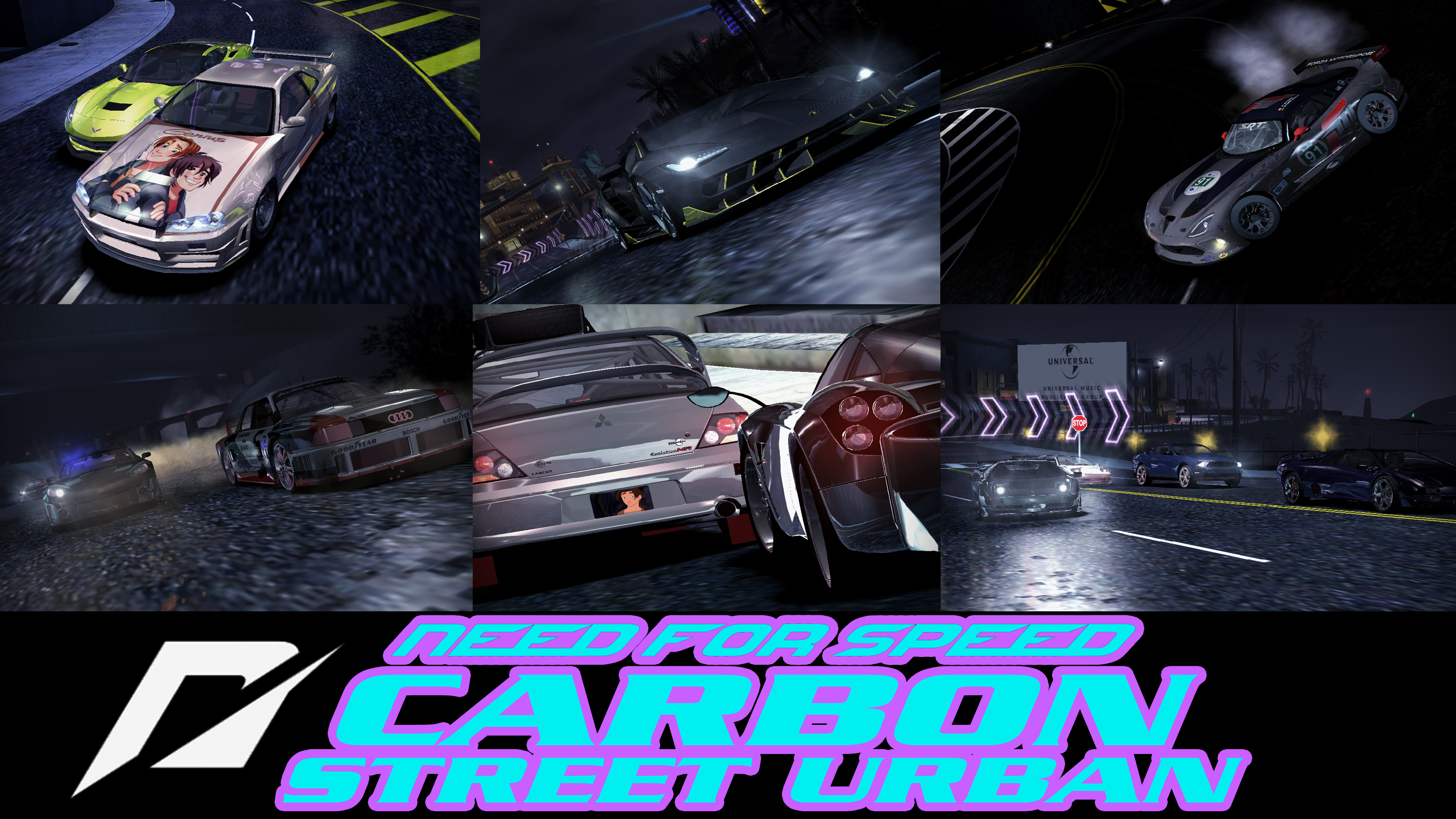 Need for Speed Carbon: Street Urban by Rainbow-Dash-Rockz