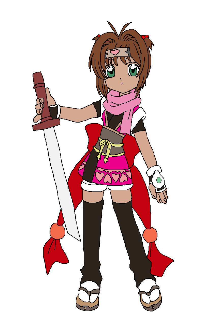 Sakura dressed as Yumi's Miracle Ninja by Rainbow-Dash-Rockz
