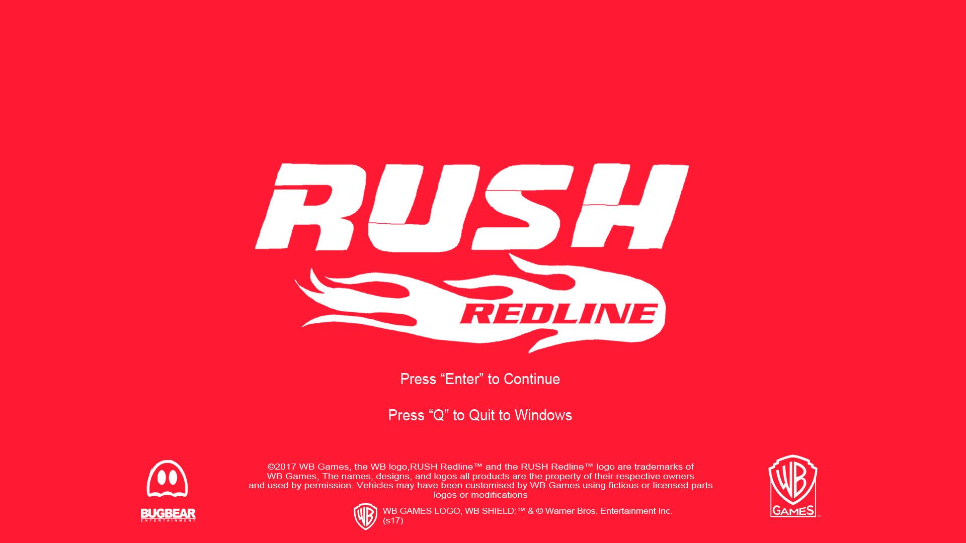 RUSH Redline Pre-Alpha screen by Rainbow-Dash-Rockz
