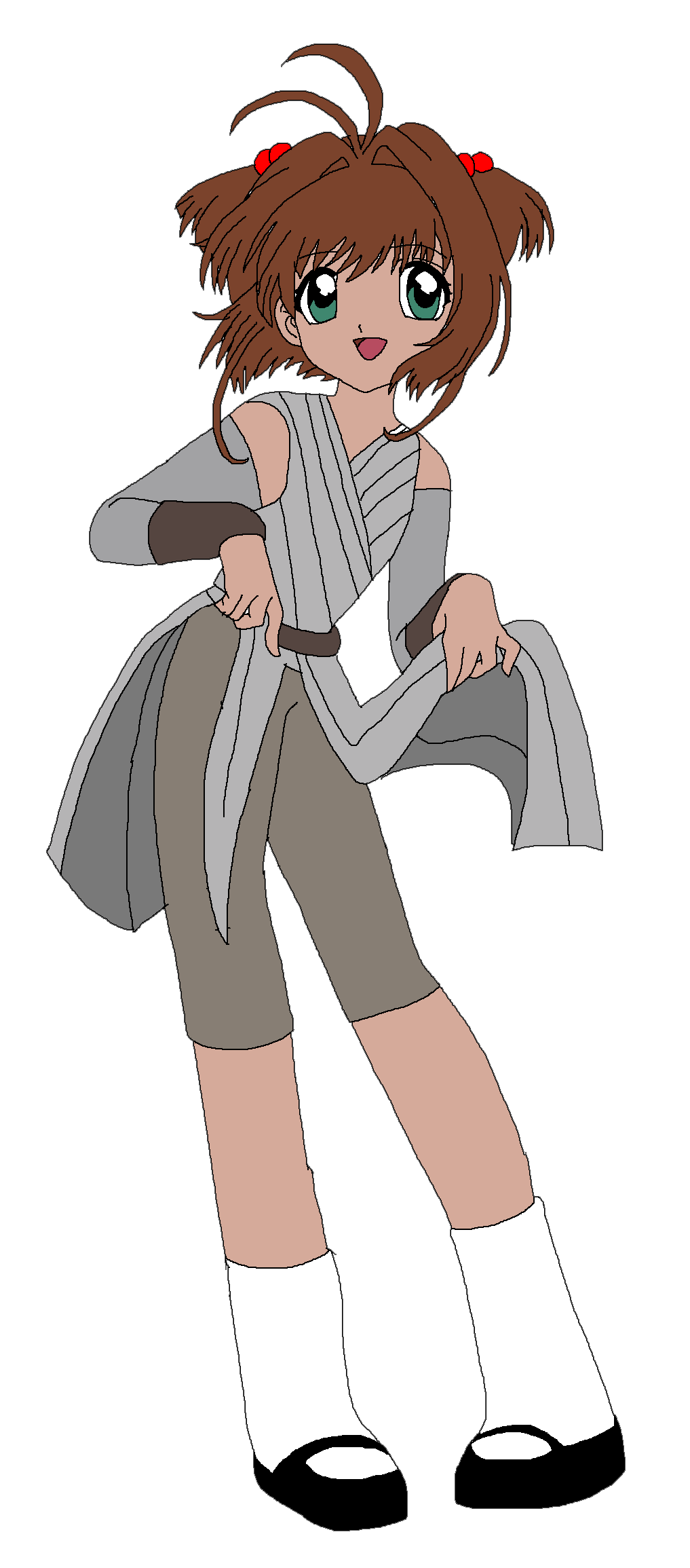 Sakura Kinomoto as Rey by Rainbow-Dash-Rockz