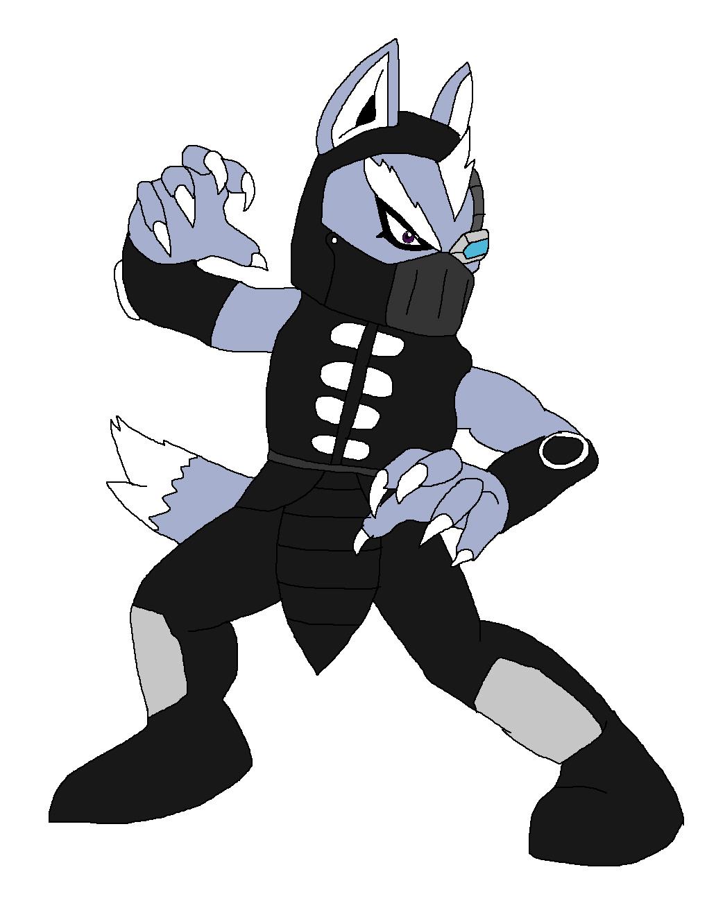 Wolf O'Donnel - Noob Saibot by Rainbow-Dash-Rockz