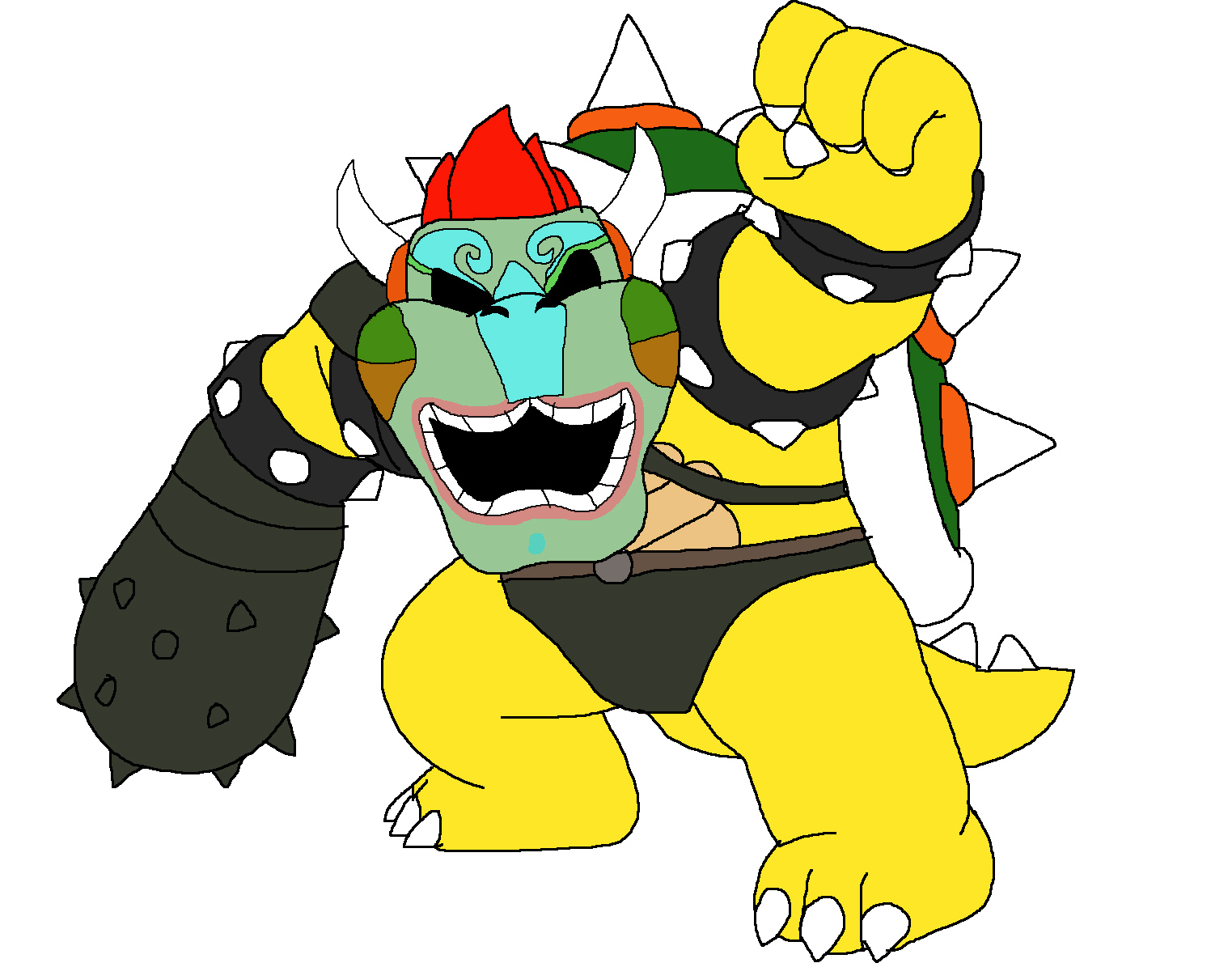 Bowser - Drahmin by Rainbow-Dash-Rockz