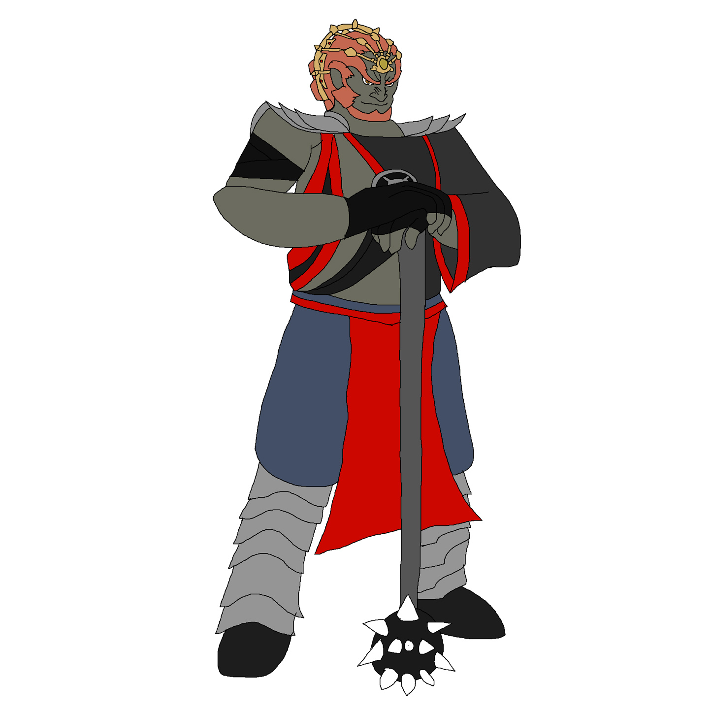 Ganondorf - Havik by Rainbow-Dash-Rockz