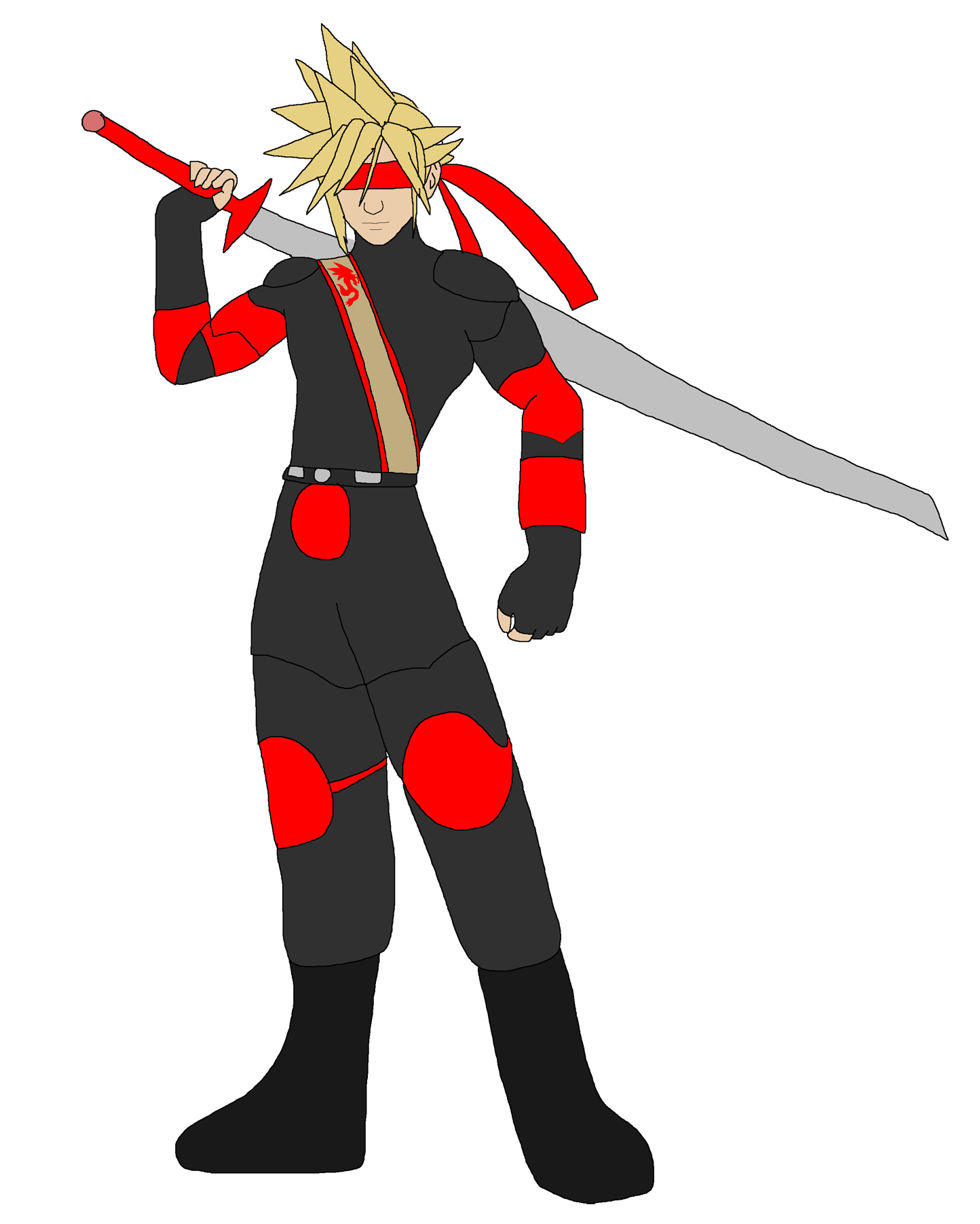 Cloud Strife - Kenshi by Rainbow-Dash-Rockz