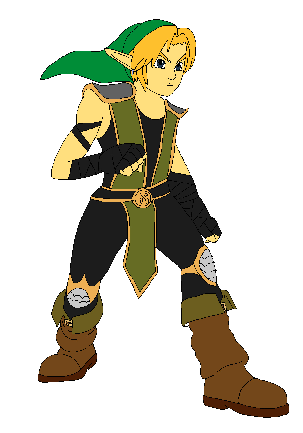 Link - Reptile by Rainbow-Dash-Rockz