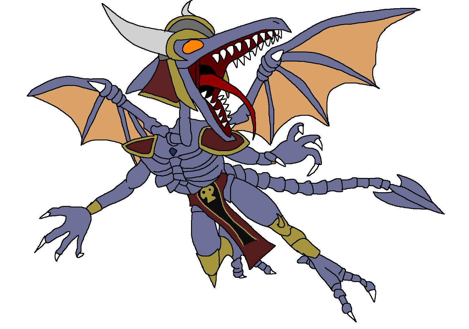 Ridley - Onaga by Rainbow-Dash-Rockz