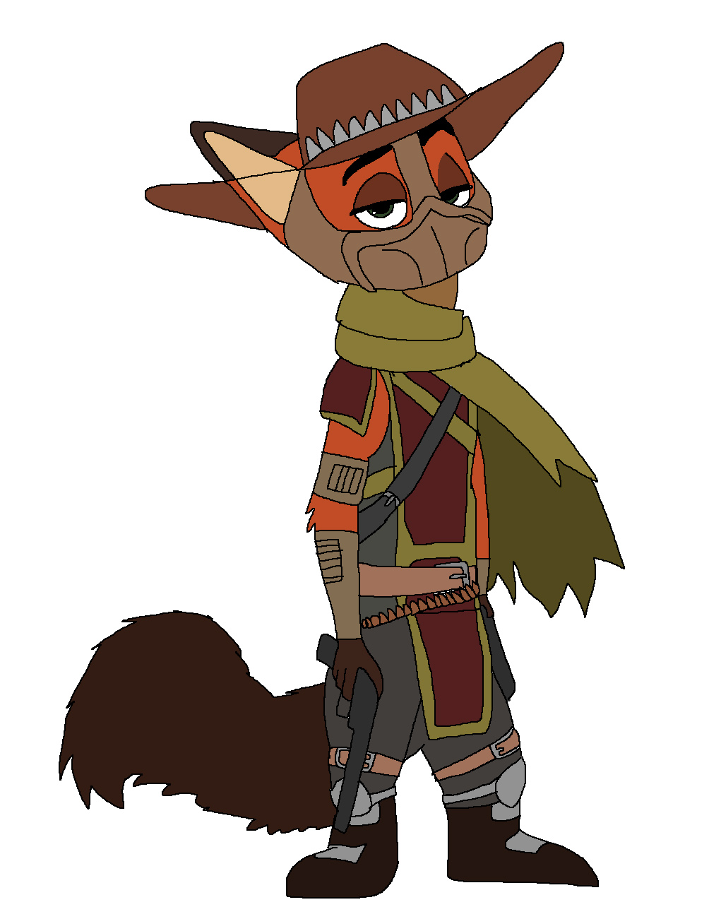 Nick Wilde - Erron Black by Rainbow-Dash-Rockz
