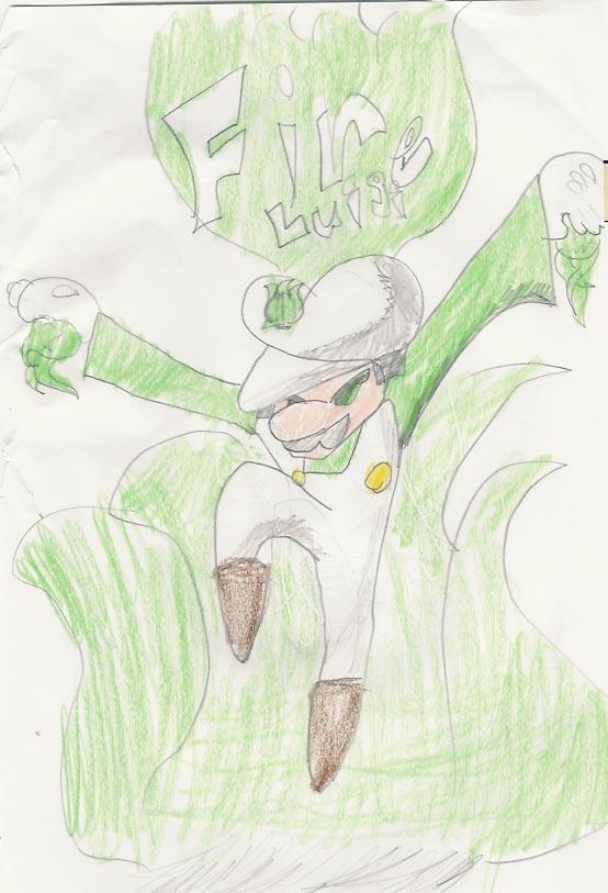 fire Luigi by Ramie11