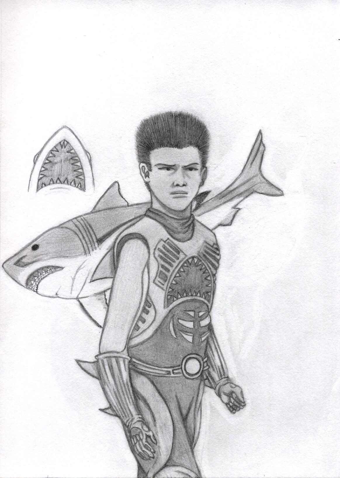 coloring pages shark boy - photo#13