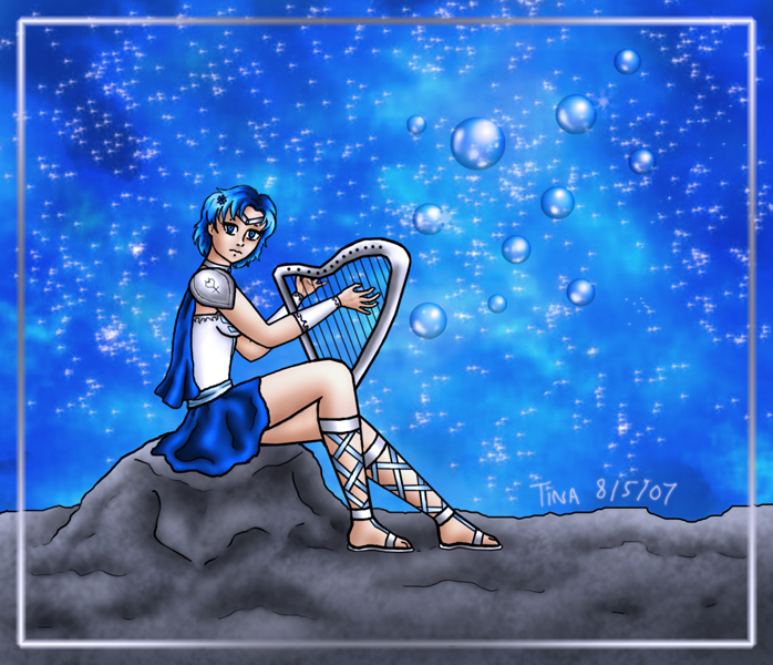 Medieval Sailor Mercury by Randycat