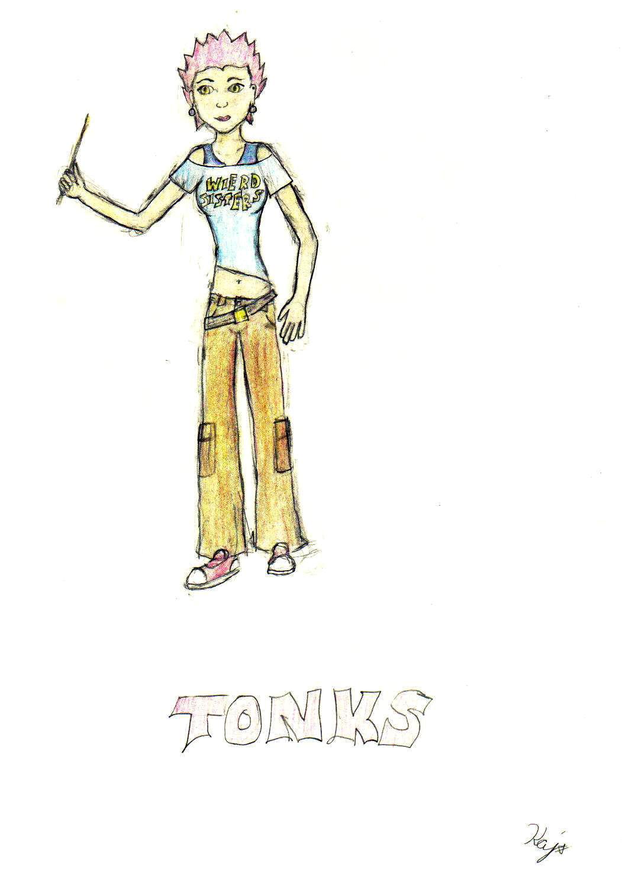 Tonks by RangerGirl