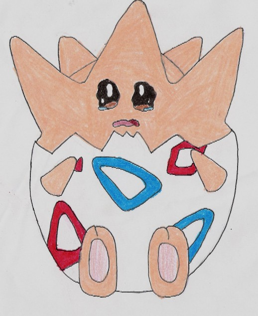 Togepi About to Cry. (4 PPhantom) by Ranson