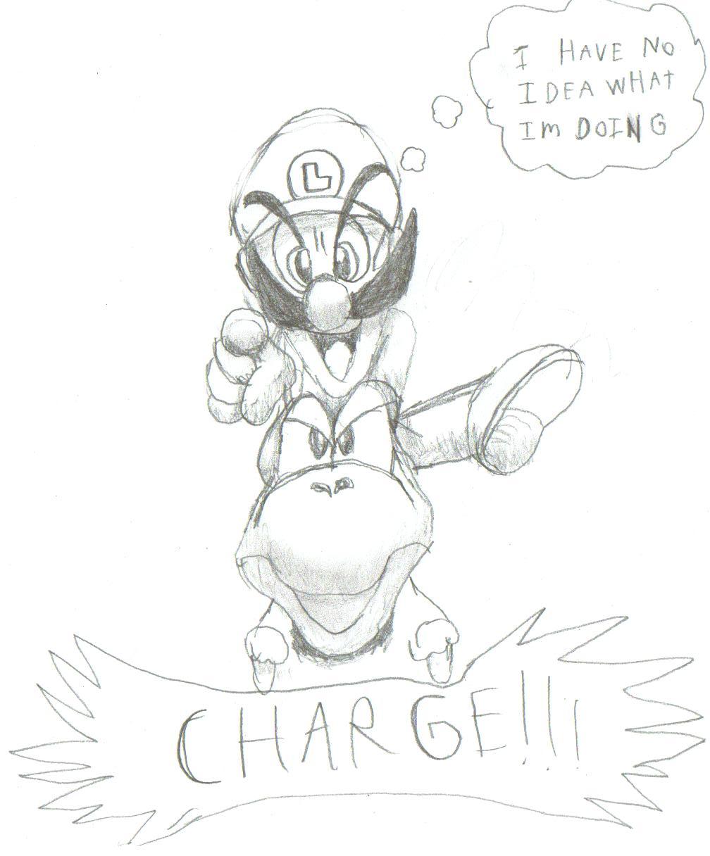 CHAAARGE!!!!!!!! by RaptorMaster