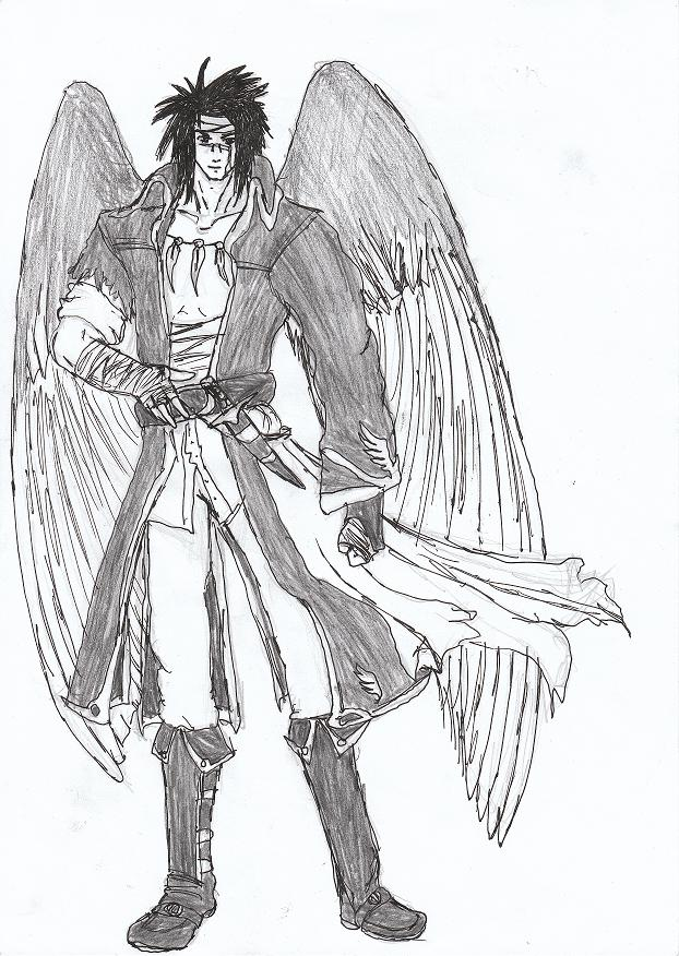 Hawk King Tibarn (the version you can see!) by RaptorMaster