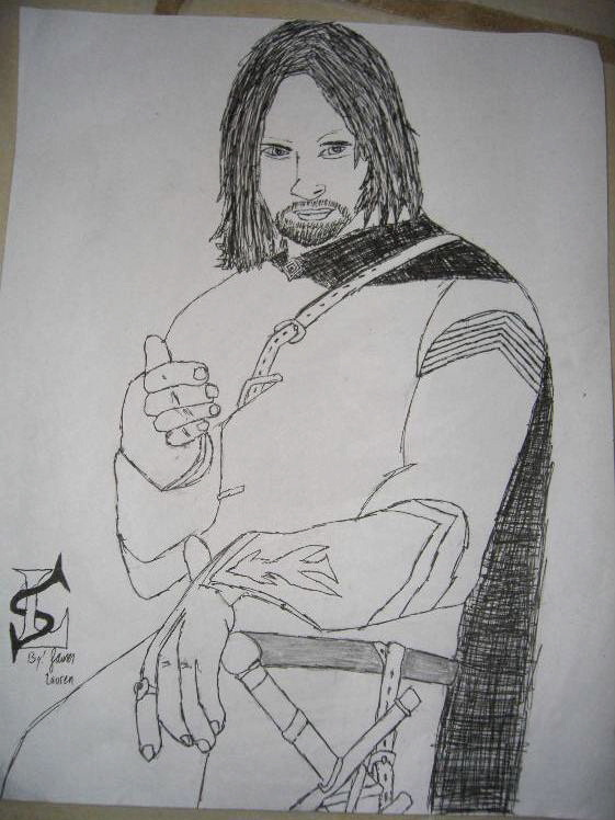 Aragorn by RavenTT87