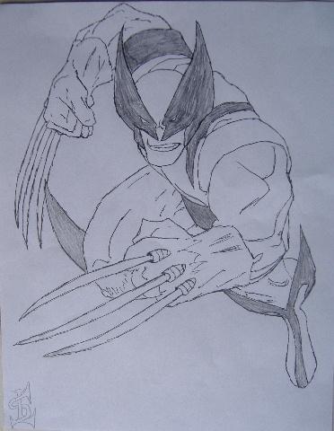 Wolverine Fighting Pose by RavenTT87
