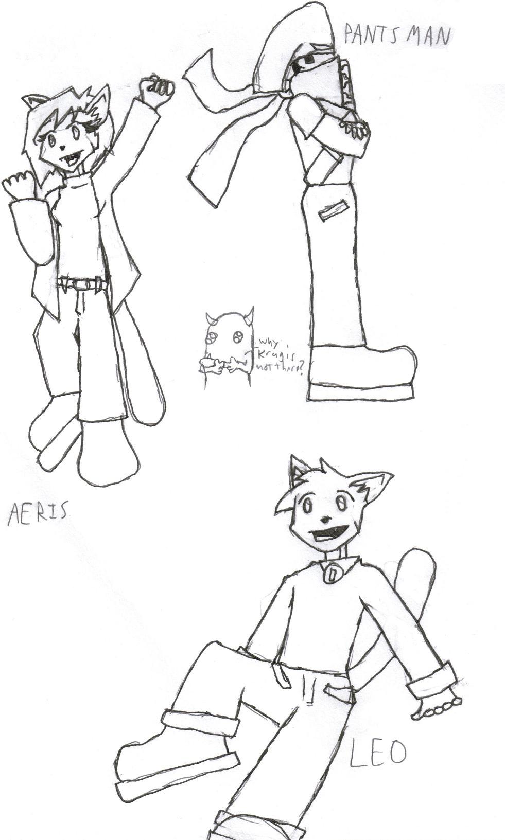 VG Cats & Pantsman by Raz