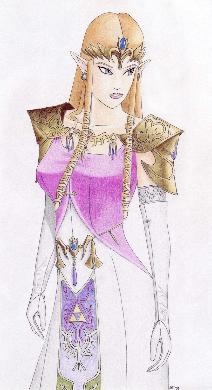 Twilight Princess Zelda by ReapersRitual