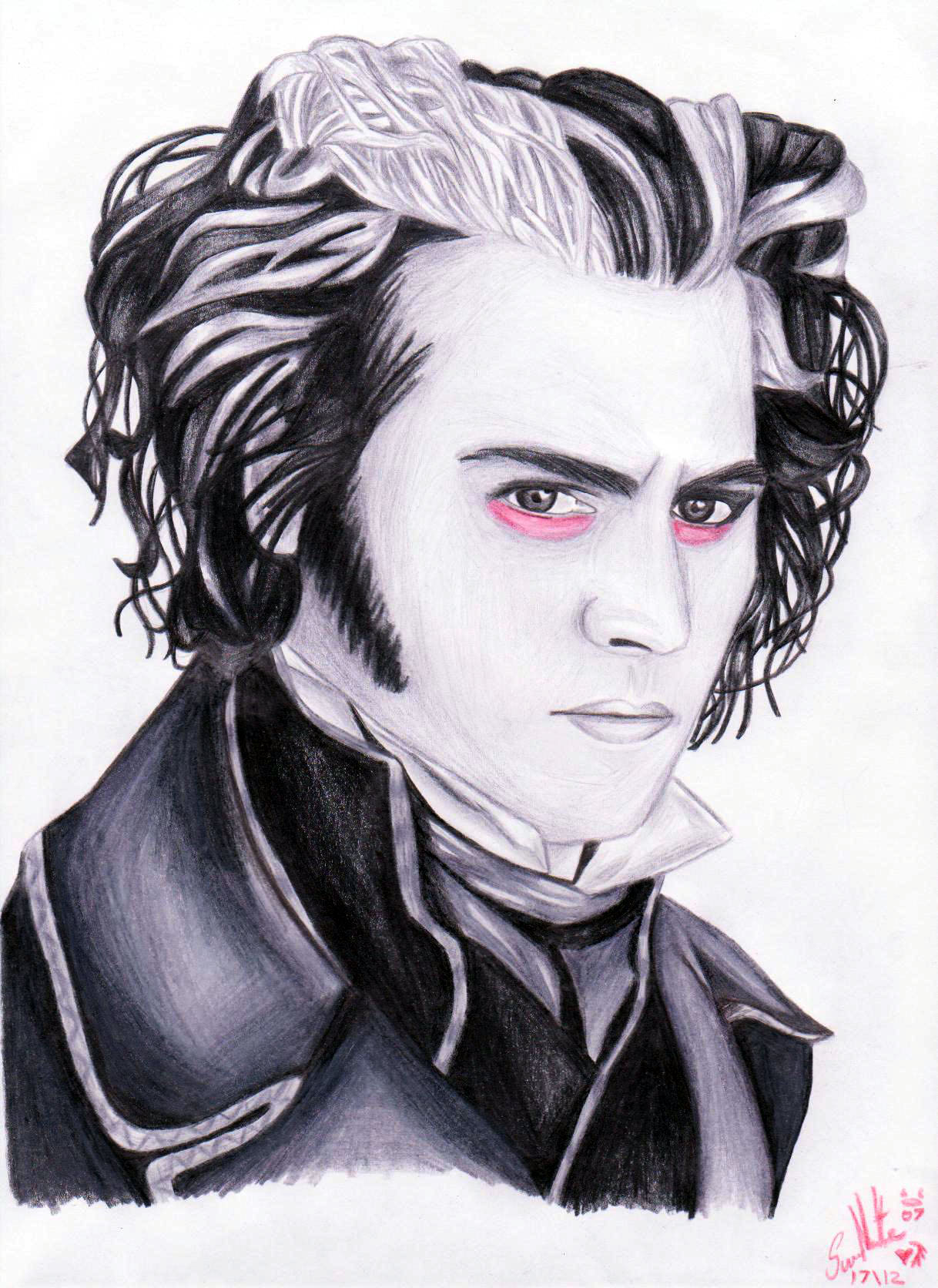Sweeney Todd by RedRoses1
