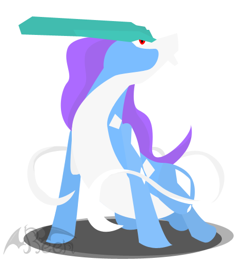 Vector Suicune by Reen