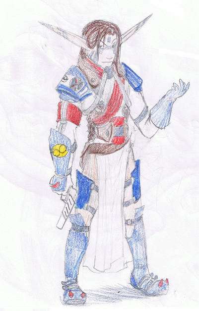 Argent Guard Roddy by RenValentine