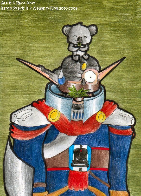 Baron Praxis:  Disadvantages of a Pet Koala by Rexy