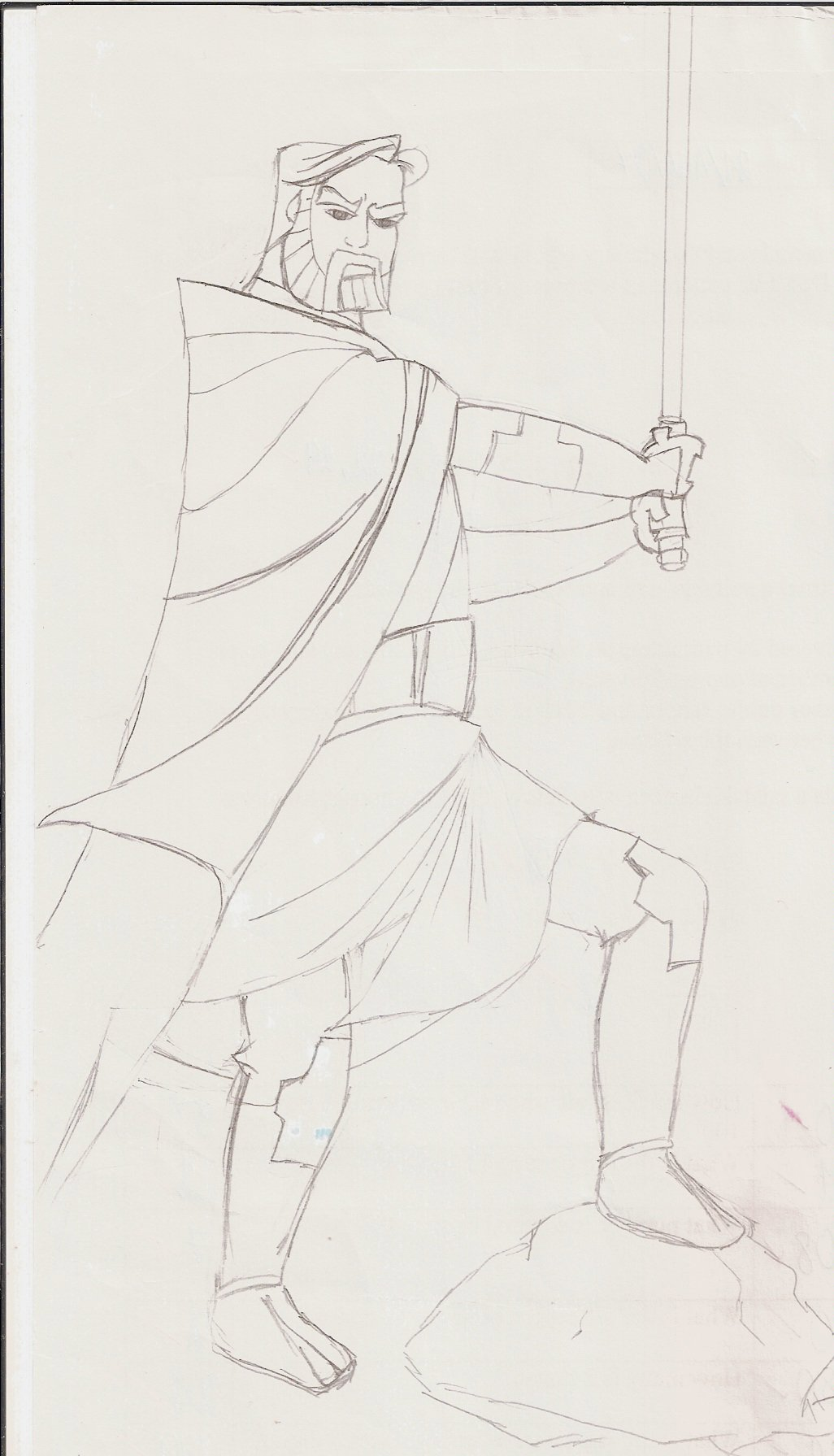 Clone Wars Obi-Wan Kenobi by RiderArgetlam