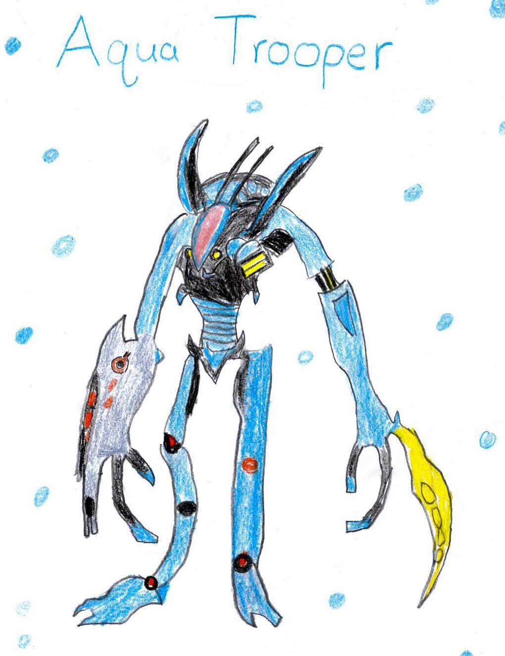 Aqua Trooper by Ridley93000