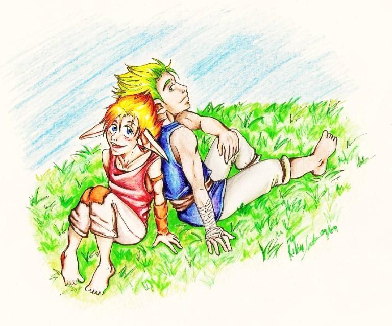 Two Best Friends by Rike