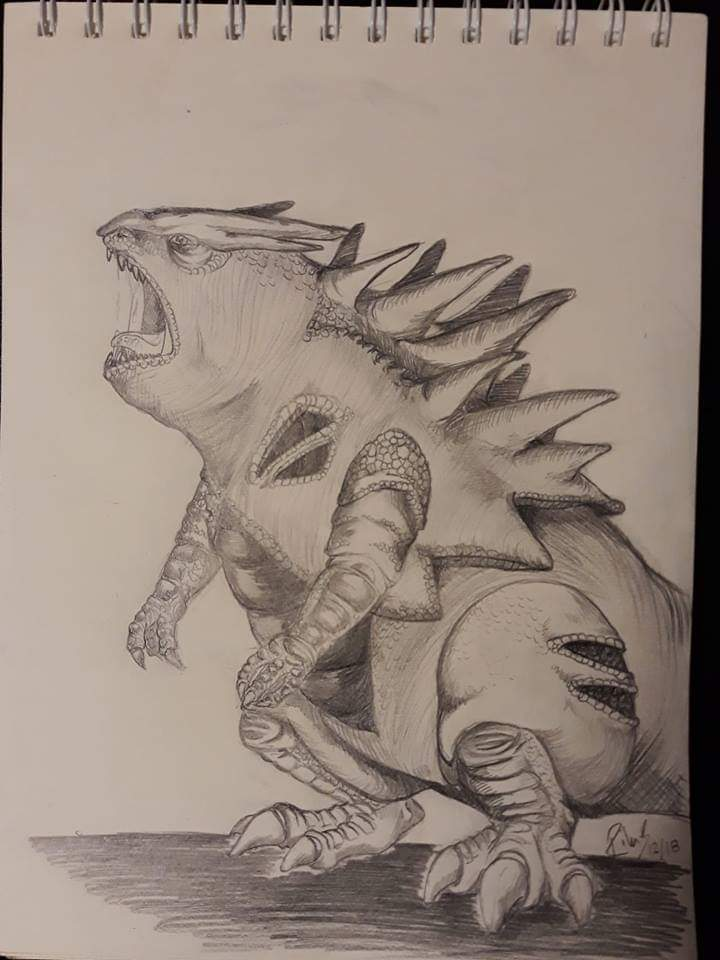 Tyranitar by Rike