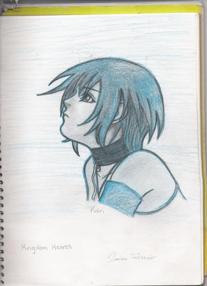 Kairi! The Blue Fairy by Rikus_Bride
