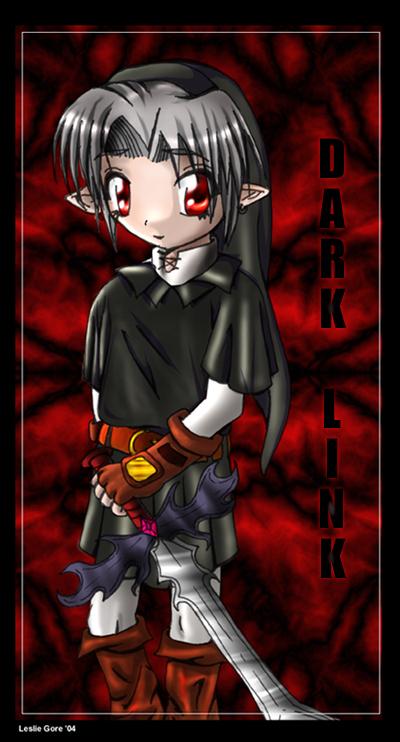 Dark Link's Teh Chibi - Colored by Rikusgurl