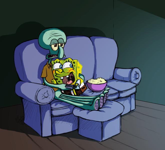 SBSP - Movie Night by Rikusgurl