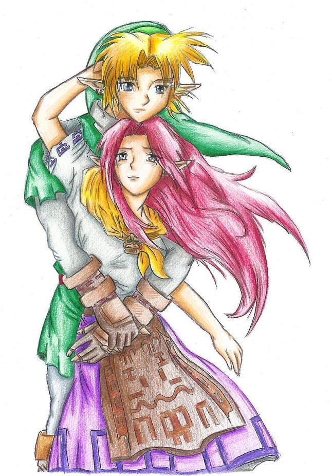 Link+Malon by Rinkuchan