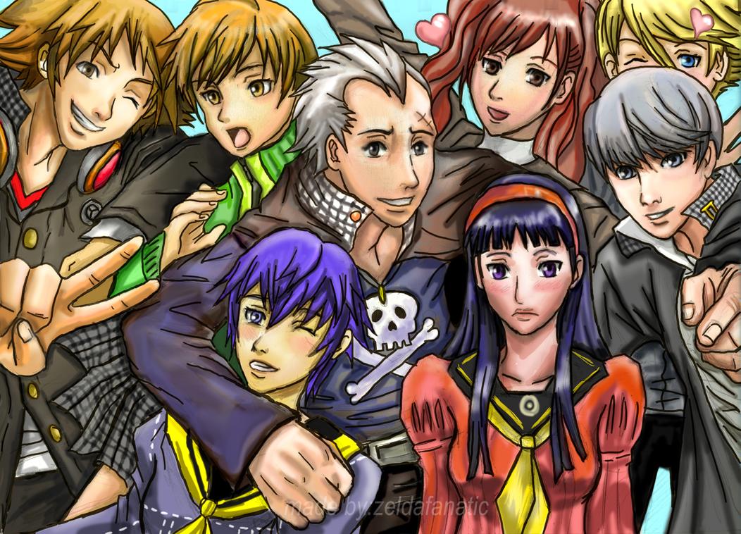 Persona 4: SAY CHEESE by Rinkuchan