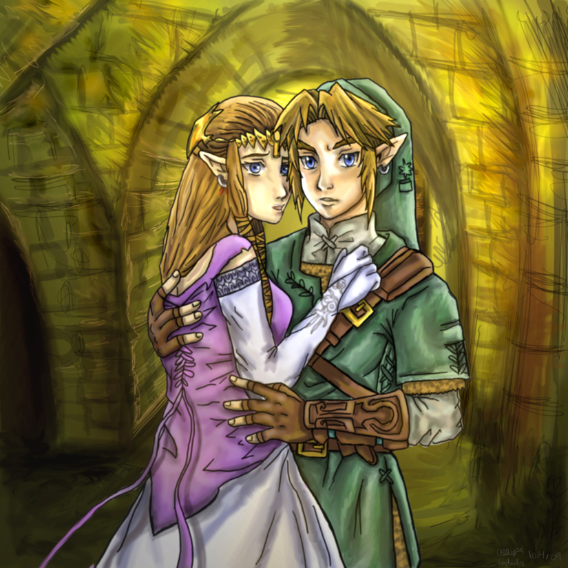 Zelink I Will Protect You by Rinkuchan