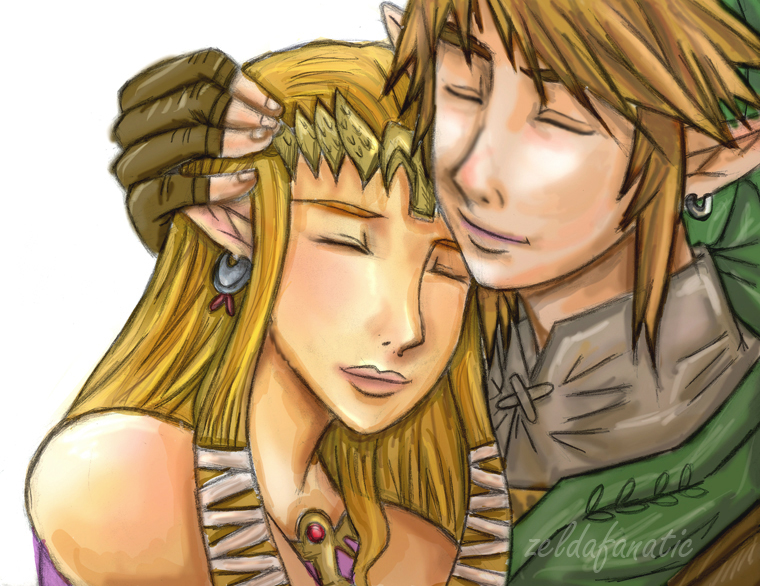 ZELINK I Missed You colored by Rinkuchan