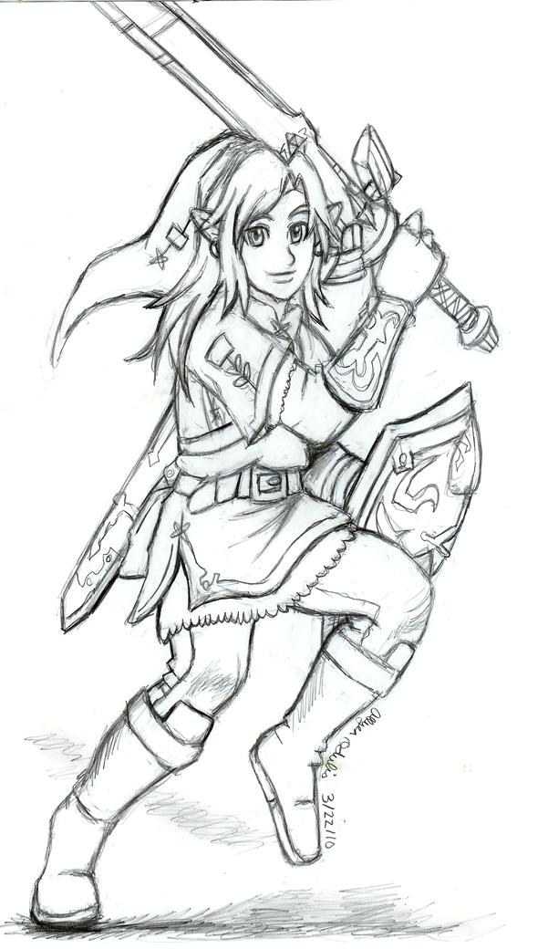 Free Sketch 01 SoinyMariaRose by Rinkuchan