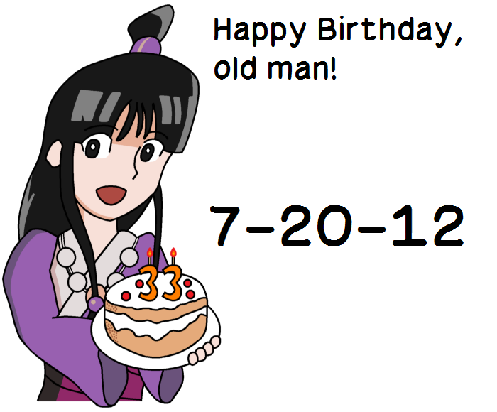 Maya Fey Birthday Card by RisanF